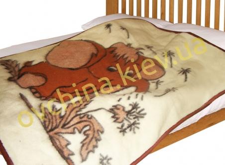 Одеяло детское со слоником /Eluna/110*95